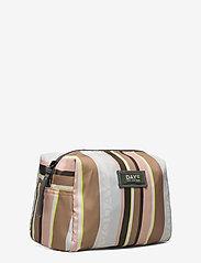 DAY et - Day Gweneth RE-P Stripe Beauty - väskor - tigers eye - 2
