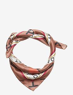 Day Silk Wild Logo scarf Mini - scarves - insence