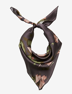 Day Silk Cactus Scarf Mini - sjaals - soldier