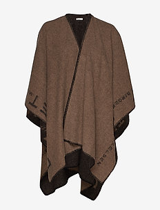 Day ET Poncho - ponchos & capes - black