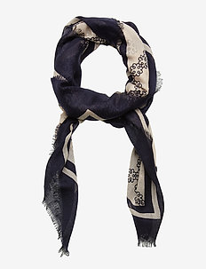 Day Deluxe Motif Scarf - NIGHT SKY
