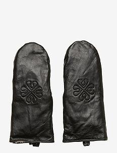 Day Glove Stamped Mitten - BLACK