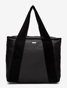 Day Velvet Band Bag - BLACK