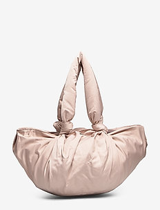 Day Drapy Large Pouchy Bag - handbags - cement