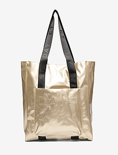 Day Patent N Tote - CREAM GOLD
