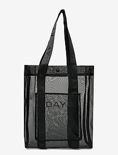 Day Tulle N Tote - casual shoppers - black