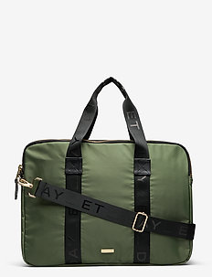 Day Double Zip Computer B - laptop-väskor - four leaf clover green