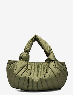 Day Knotty Pouch B - FOUR LEAF CLOVER GREEN