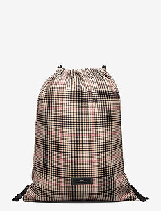 Day Gweneth Tartan Sack - backpacks - moonlight beige