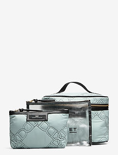 Day Gweneth Q Chain Set - cosmetic bags - gray mist blue