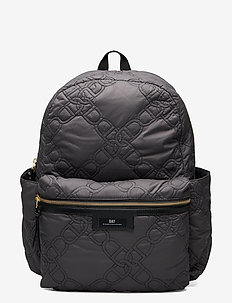 Day Gweneth Q Chain BP B - backpacks - forged iron grey