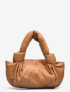 Day Knotty Leather Bag - CAMEL BEIGE