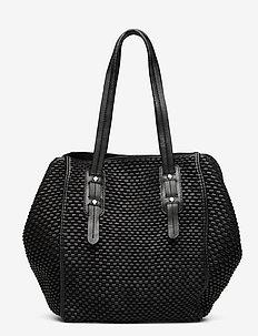Day Weave Everyday Bag - schoudertassen - black