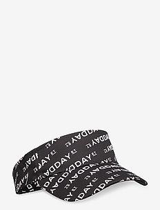Day Logo Print Visor - hoeden - black