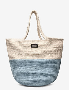 Day Blocking Cord Bag - bucket-tasker - omphalodes blue