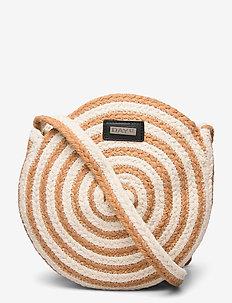 Day Straw Stripe CB - torby na ramię - camel beige
