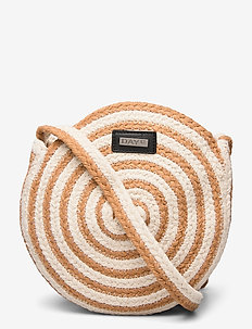 Day Straw Stripe CB - shoulder bags - camel beige