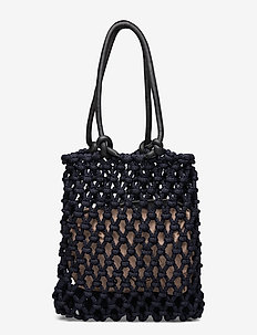 Day Block Net Tote - fashion shoppers - night sky