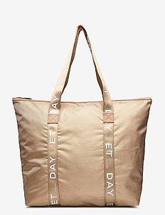 Day GW Sporty Logo Bag - fashion shoppers - moonlight beige