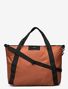 Day Gweneth Cross - casual shoppers - burnt brick red