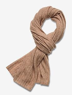 Day Rib Knit Scarf - sjaals - brush beige