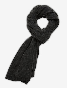 Day Rib Knit Scarf - sjaals - forged iron grey