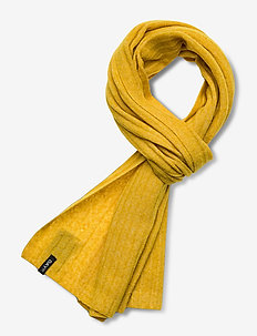 Day Rib Knit Scarf - sjaals - golden palm