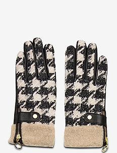 Day Glove Tweed w Teddy Cuff - handsker & vanter - black