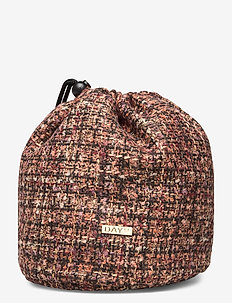 Day Gweneth Tweed Collect - bucket bags - potting soil brown