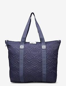 Day Gweneth Q Fan Tone Bag - shoppers - blue nights