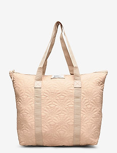 Day Gweneth Q Fan Tone Bag - shoppers - brush beige