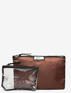 Day Gweneth Small Set - cosmetic bags - potting soil brown