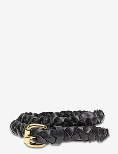 Day Narrow Braided Belt - riemen - black