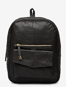 Day Bubbly Leather BP - rygsække - black