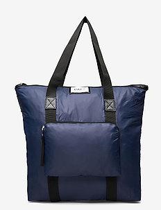 Day Gweneth Fold Bag - tote bags - navy blazer