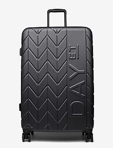 "Day NBO 28"" Suitcase Chewron - koffers - forged iron grey"