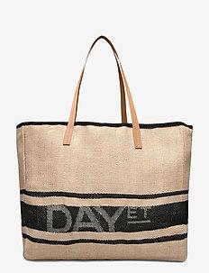 Day J Jute Shopper - shoppers - cement