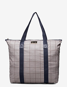 Day GW Check Bag - tote bags - blue nights
