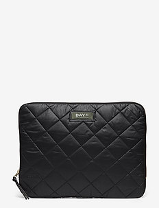 Day Gweneth RE-Q Checky Fold13 - väskor - black