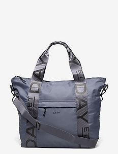Day Graphics Shopper - tote bags - blue fog