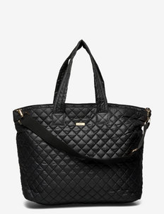 Day RE-Soft Bubbles Cross - tote bags - black