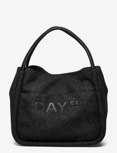 Day Woolen Small Shopper - shoppers - dark grey mel