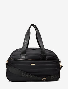 Day GW Puffer 1 Nighter - weekend and gym bags - black