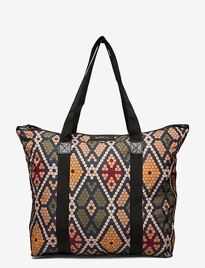 Day Gweneth RE-P Mosaic Bag - torby na zakupy - multi colour