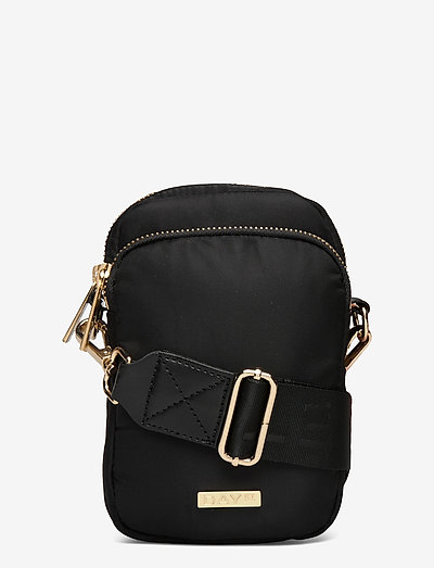 Day RE-Logo Band Compact Mini - shoulder bags - black