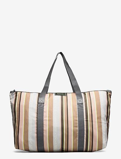 Day Gweneth RE-P Stripe XL Bag - tote bags - tigers eye