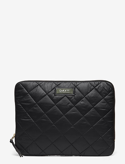 Day Gweneth RE-Q Checky Fold13 - computer bags - black