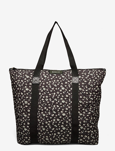 Day Gweneth RE-Q Flower Bag - shoppers - black