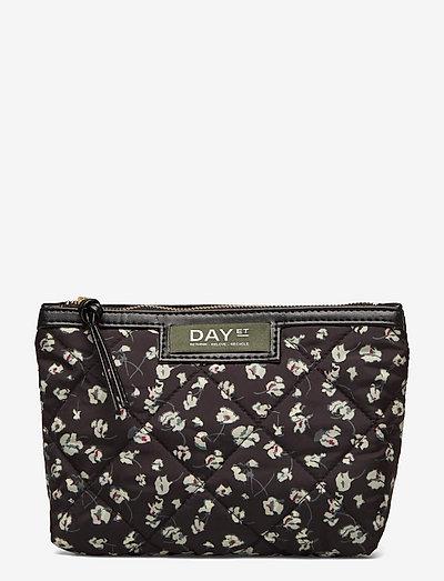 Day Gweneth RE-Q Flower Mini - cosmetic bags - black