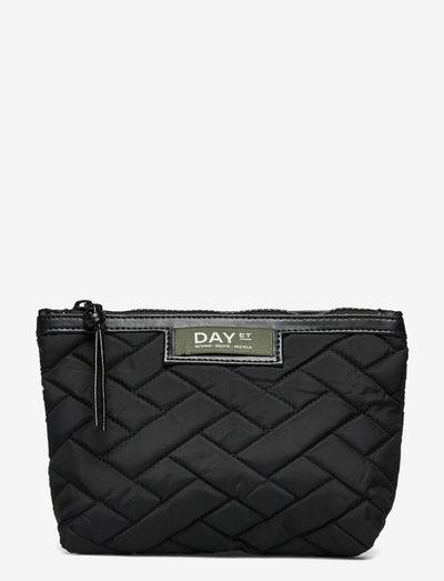 Day Gweneth RE-Q Tiles Mini - cosmetic bags - black